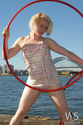 Hula Hooping at the Harbour!